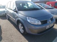 55 Plate - Renault Grand Scenic 1.6 **7 Seater MPV - New 12 Month Mot**