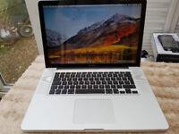 Apple MacBook Pro 15 inch, Quad Core i7, 8gb ram, 1 Terabyte HD,