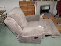 Recliner Chair, Double Bed & Mattress, Single Bed & Mattress, Various tables, chairs, Towel heater,