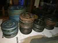 £1 per kg standard cast iron weights..500 kg available