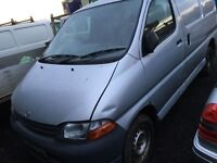 Toyota Hiace van parts available - engine - gearbox