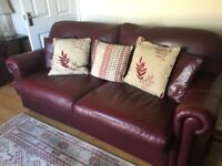 Leather Sofas great condition