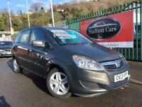 2013 (13 reg) Vauxhall Zafira 1.7 TD ecoFLEX 16v Exclusiv 5dr MPV Turbo diesel 6 Speed Manual