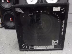 "Power Acoustik 12"" Car Sub For Sale. We Sell Used Car Audio Equipment. 108888*"