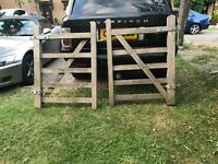 2 single farm gates £25 each or 2 £40