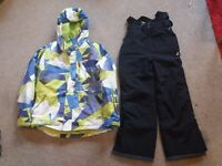 Ski jackets, trousers and helmet - age 11-13 - very good condition. Will sell separately.