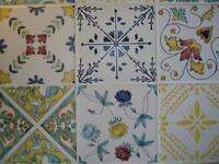 Very Decorative Italian Tiles