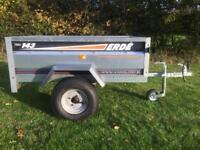 Erde 143 Trailer Camping Garden Carboot Tip Tipper DIY Trailor Halfords 600 KG