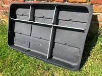 Renault Clio MK 3 Boot Tray Liner with Aluminum dividers
