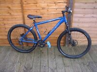 "Trek 6500 SLR mountain bike MTB XC Hardtail Blue 17"" frame"