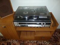 70's Recordplayer/Cassette and Unit