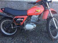 Honda XL500 1979 Spares or Repair £650