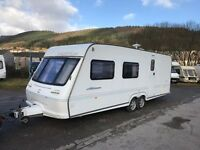Fleetwood 2000 600eb 3/4 Berth Twin Axle Touring Caravan