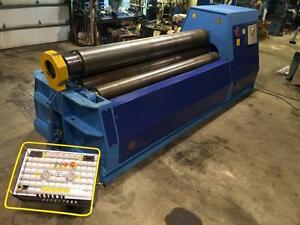 MG 120 X 7/8 Four Rolls Plate Bending Machine (USED)