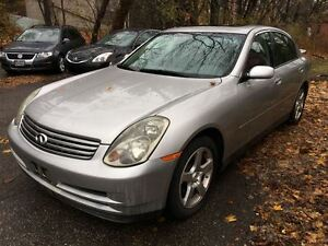 2004 Infiniti G35 Luxury | YOU CERTIFY, YOU SAVE Kitchener / Waterloo Kitchener Area image 2