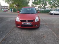 2010 Suzuki Swift, 1.3 Diesel, 68k only, full MOT, £30 Road tax a year.