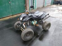 BASHAN QUAD, FULL MAN SIZE, ROAD LEGAL QUAD £700 REDUCED FROM £995