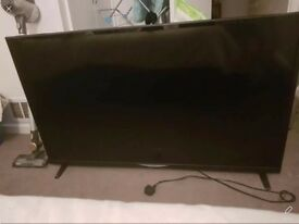 55 inch seiki tv with built in freeview