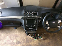 Ford galaxy sat nav dash mk3 stop start full air bag kit for supply and fit call for parts thanks