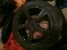 2 honda civic alloys (mx5 drift wheels)