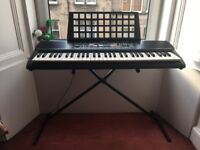 YAMAHA keyboard PSR-195 - Including stand and notes stand