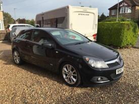Vauxhall Astra 1.9 CTDI design, 3 door black