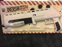 Nintendo Wii overshot gun