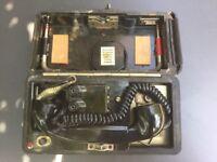 Vintage Bakelite Field Telephone
