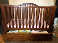 Cot/ Toddler bed with storage