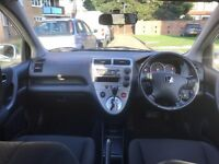 HONDA CIVIC 1.4**AUTOMATIC**2 OWNERS**LONG MOT**LOW MILEAGE**HPI CLEAR**