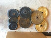50kg Cast iron weights