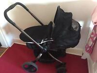 Mothercare spin pram/biggie £100