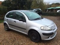 05 CITROEN C3 HDI 5 DR HATCH SILVER 1.4 DIESEL ENG CODE - 8HY CAR PARTS
