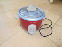 Crockpot rice cooker - red
