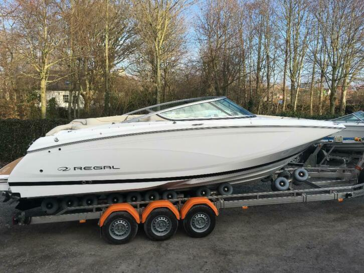 New Regal 22FD 2019 met Mercruiser 4.5 250 pk Bravo 3