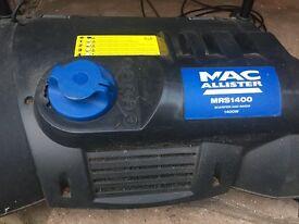 MacAllister MRS 1400 lawn scarifier
