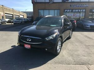 2011 Infiniti FX35 Navigation / Bose / Around View camera