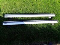 Thule 961 Wing Bars (Pair), Thule 591 x2, Thule 754 Footpack, Thule 1051 Fitting Kit