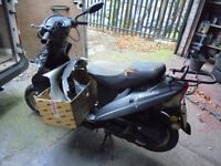 2011 pulse bt 49 qt-9d1 scooter moped bargain low miles cosmetic