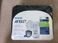 Unused Manual Breast Pump and Bottles - Sealed in packaging