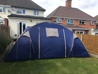 Halfords 4 man tent. Used.