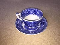 Cup & Saucer - George Jones & Sons - Abbey 1790.