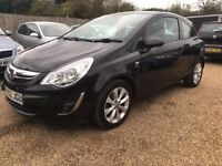 VAUXHALL CORSA 1.2 i 12v ACTIVE HATCHBACK 3DR 2012*IDEAL FIRST CAR*LOW MILEAGE*FULL SERVICE*
