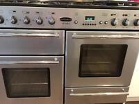 Rangemaster Toledo 110 Freestanding range cooker. Gas Hob, electric oven.