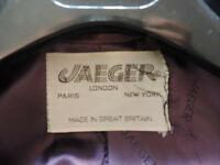 PURE CASHMERE (100%) JAEGER COAT
