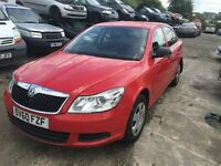 2010 SKODA OCTAVIA S TDI CR (MANUAL DIESEL)- FOR PARTS ONLY