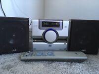 JVC Stereo CD Player & Radio