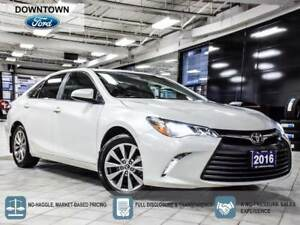 2016 Toyota Camry XLE. Moonroof, Navigation, Leather, Low KM