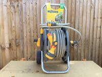 HOZELOCK 40m wheeled Hose Cart (retractable handle)