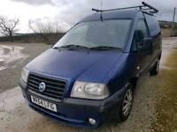 Fiat scudo van 2005 (Citroen dispatch/Peugeot expert) 2.0D MOT AUG 18 TOTALLY reliable & clean